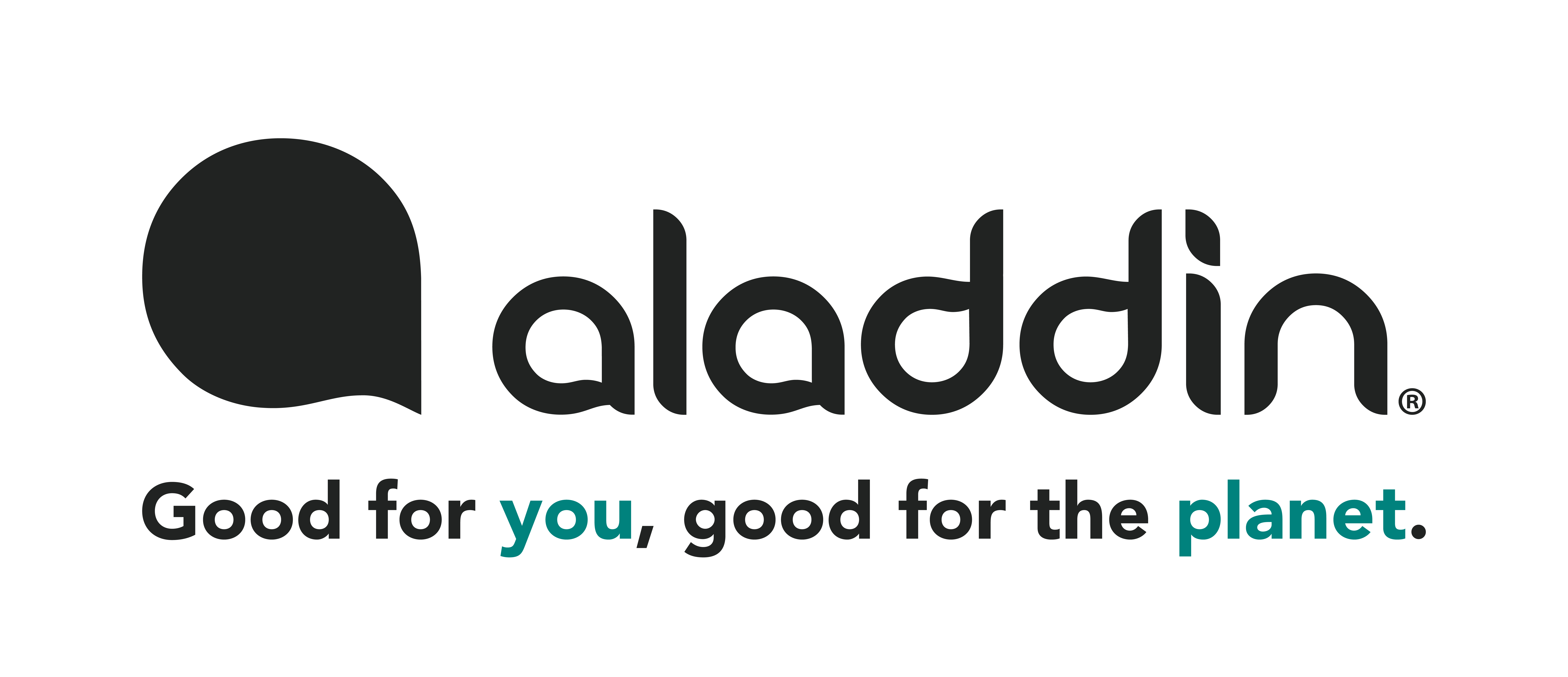 Aladdin_Mark+Wordmark+Tagline_Asphalt_Grey+Sustain_Green